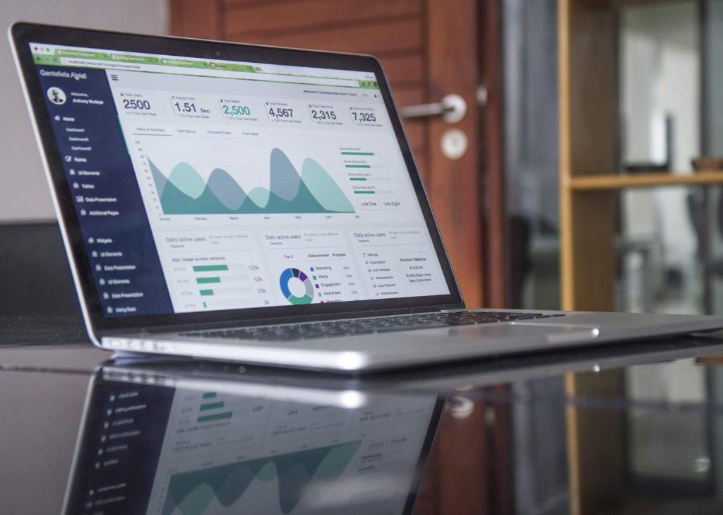 Analyse et statistiques sur ordinateur portable