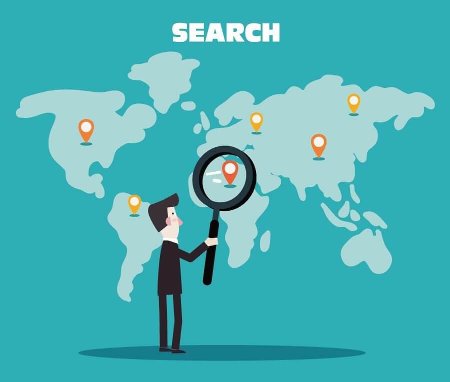 search international seo