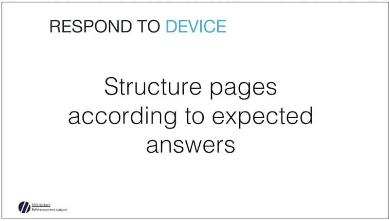 Structure des Pages